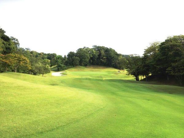 霞ゴルフクラブ INコース 10番ホール