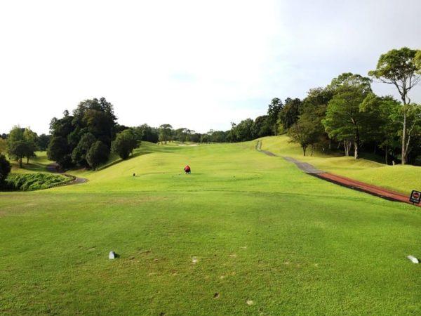 霞ゴルフクラブ INコース 11番ホール