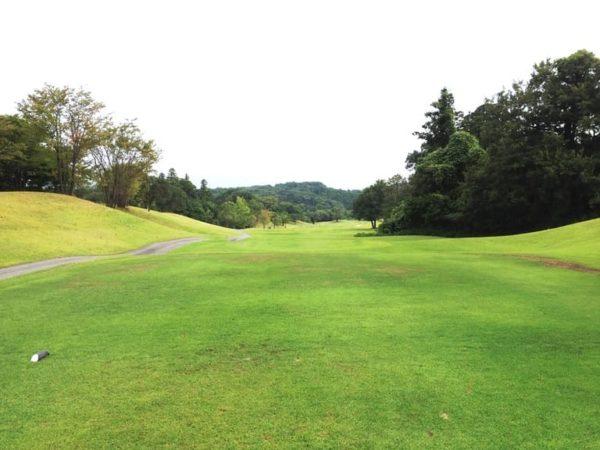 霞ゴルフクラブ INコース 13番ホール ロングホール