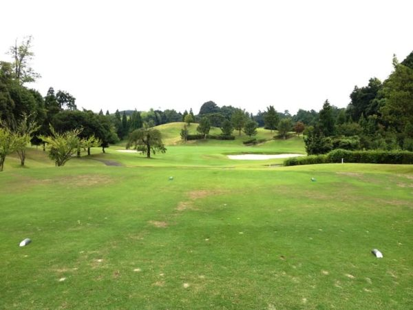 霞ゴルフクラブ INコース 16番ホール ショートホール