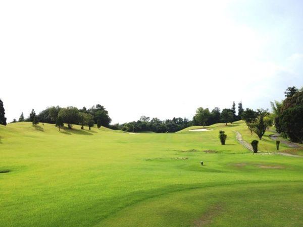 霞ゴルフクラブ INコース 17番ホール