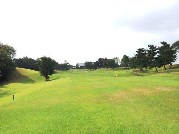 霞ゴルフクラブ INコース 18番ホール
