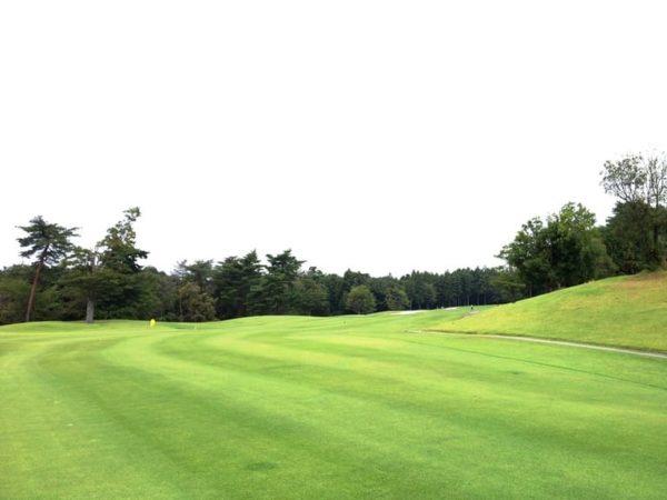 霞ゴルフクラブ OUTコース 4番ホール ロングホール