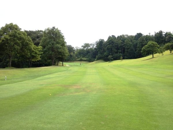 霞ゴルフクラブ OUTコース 5番ホール