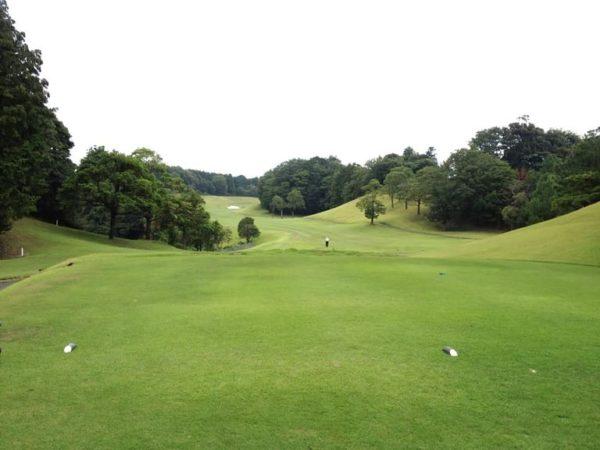 霞ゴルフクラブ OUTコース 6番ホール ロングホール