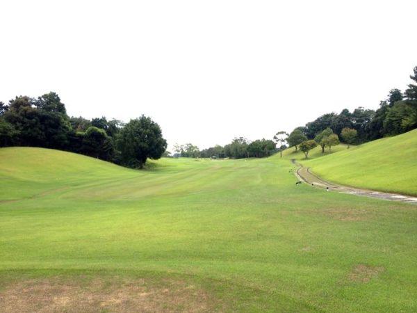 霞ゴルフクラブ OUTコース 7番ホール