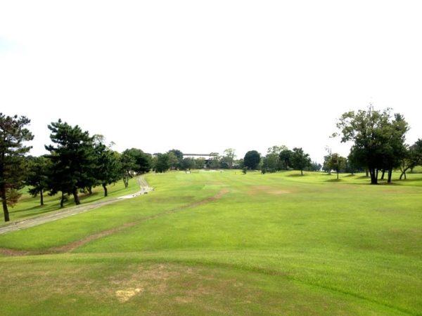 霞ゴルフクラブ OUTコース 9番ホール