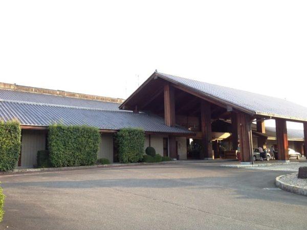 三重 霞ゴルフクラブ クラブハウス 外観