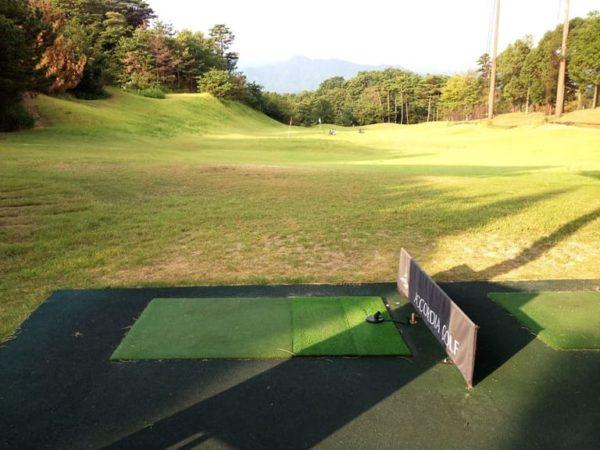 霞ゴルフクラブ 練習場 ドライビングレンジ