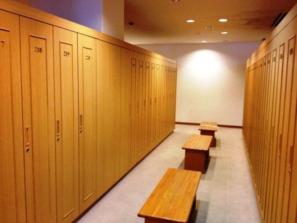 大阪 きさいちカントリークラブ ロッカールーム