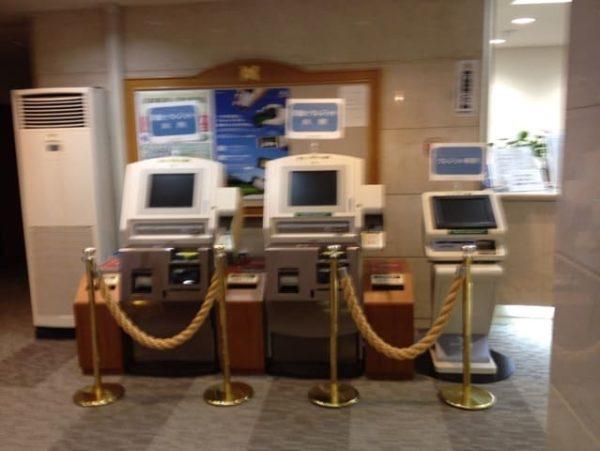 大阪 きさいちカントリークラブ クラブハウス 自動精算機