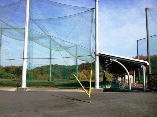大阪 きさいちカントリークラブ 練習場 ドライビングレンジ