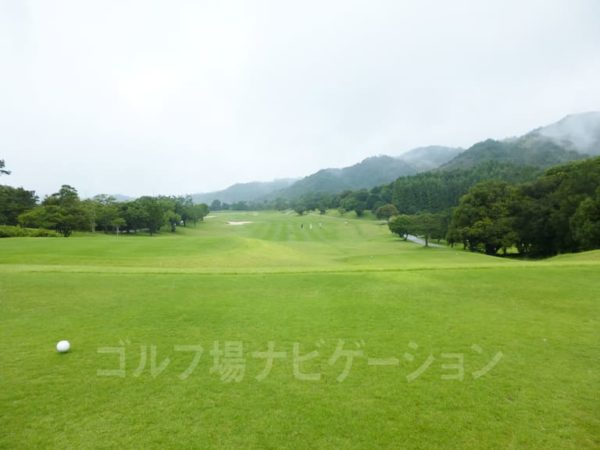 Kochi黒潮カントリークラブ 暖流コース 1番ホール