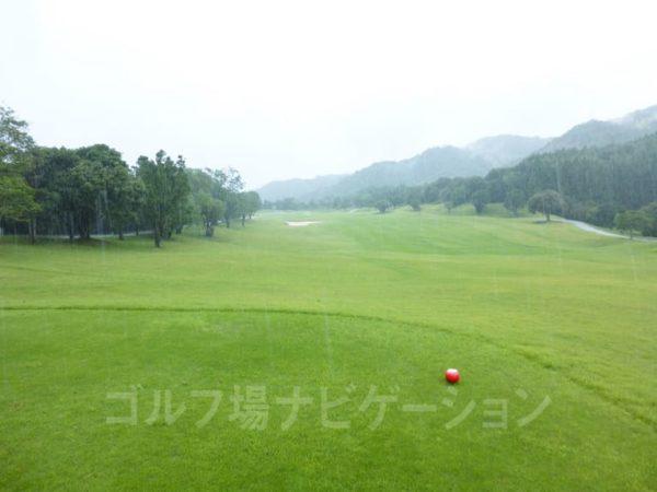 Kochi黒潮カントリークラブ 暖流コース 1番ホール レディースティ