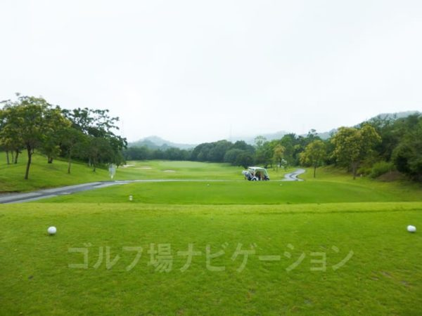 Kochi黒潮カントリークラブ 暖流コース 2番ホール ショートホール