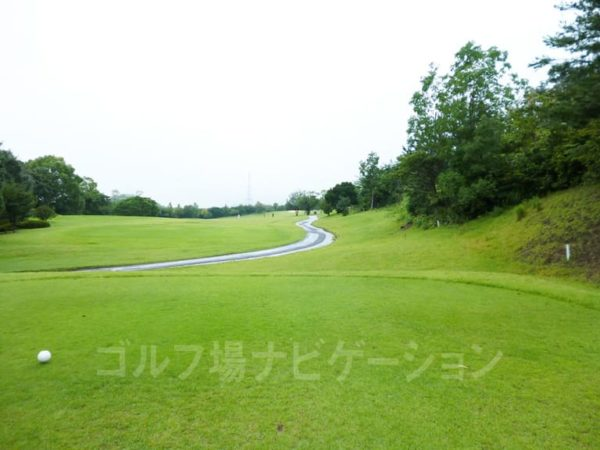 Kochi黒潮カントリークラブ 暖流コース 3番ホール ロングホール