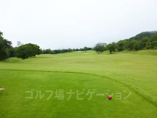 Kochi黒潮カントリークラブ 暖流コース 3番ホール ロングホール レディースティ