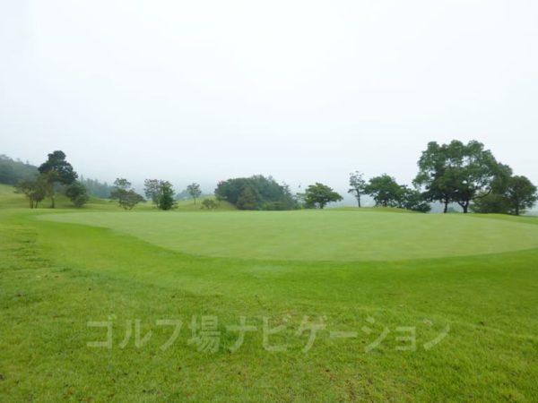 Kochi黒潮カントリークラブ 暖流コース 4番ホール グリーン