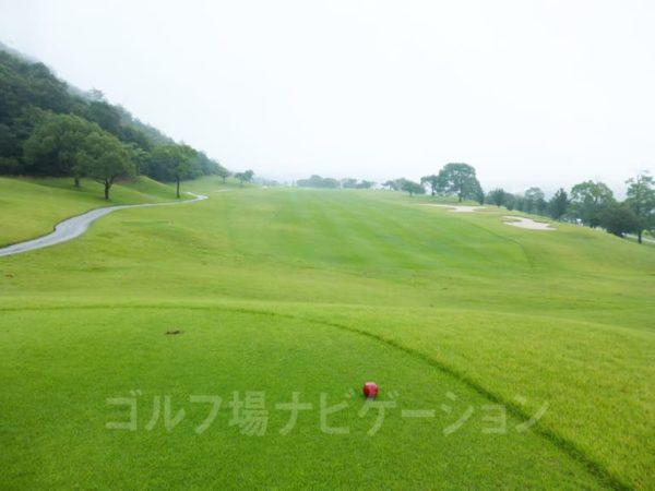 Kochi黒潮カントリークラブ 暖流コース 4番ホール レディースティ
