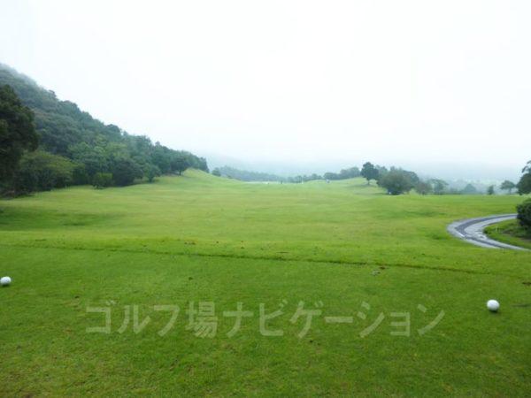 Kochi黒潮カントリークラブ 暖流コース 5番ホール レギュラーティ