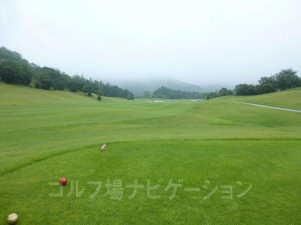 Kochi黒潮カントリークラブ 暖流コース 5番ホール レディースティ