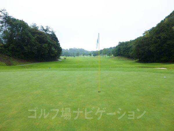 Kochi黒潮カントリークラブ 暖流コース 8番ホール