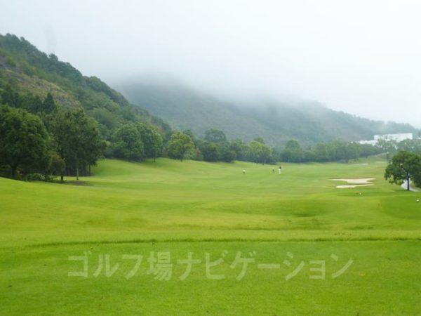Kochi黒潮カントリークラブ 暖流コース 9番ホール ロングホール レギュラーティ