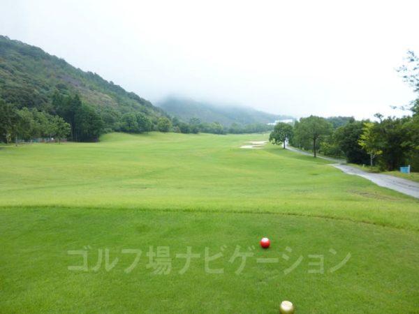 Kochi黒潮カントリークラブ 暖流コース 9番ホール ロングホール レディスティ