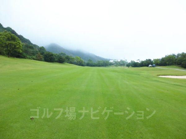 Kochi黒潮カントリークラブ 暖流コース 9番ホール ロングホール