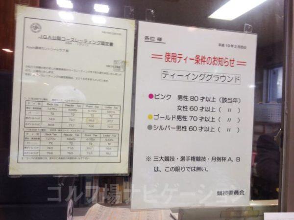 Kochi黒潮カントリークラブ コースレート グリーンコンディション