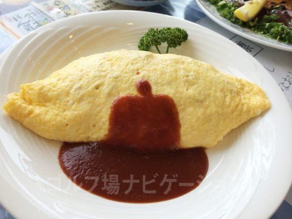 Kochi黒潮カントリークラブ レストラン ランチ 平日限定 オムライス