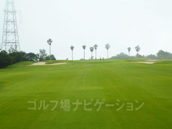 Kochi黒潮カントリークラブ 太平洋コース 1番ホール ロングホール