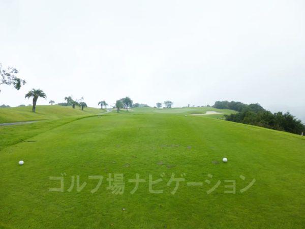 Kochi黒潮カントリークラブ 太平洋コース 2番ホール ショートホール