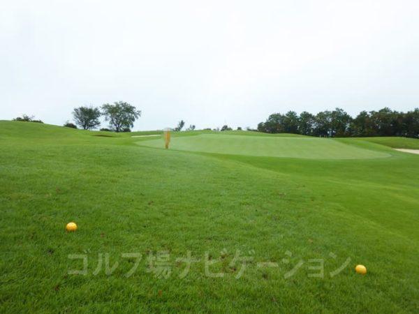 Kochi黒潮カントリークラブ 太平洋コース 2番ホール ショートホール 特設ティ