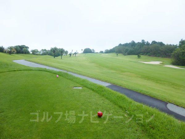 Kochi黒潮カントリークラブ 太平洋コース 3番ホール レディースティ