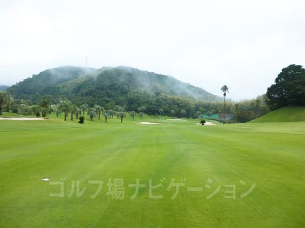 Kochi黒潮カントリークラブ 太平洋コース 4番ホール