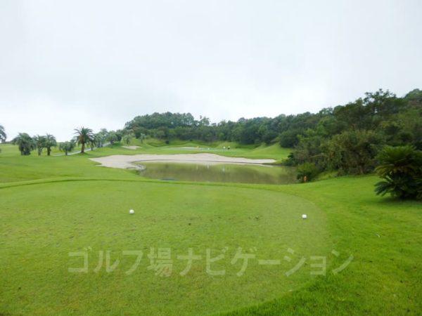Kochi黒潮カントリークラブ 太平洋コース 5番ホール ショートホール