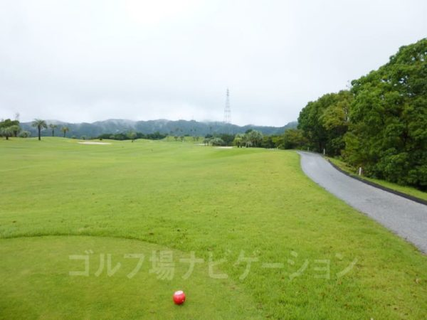 Kochi黒潮カントリークラブ 太平洋コース 6番ホール レディースティ