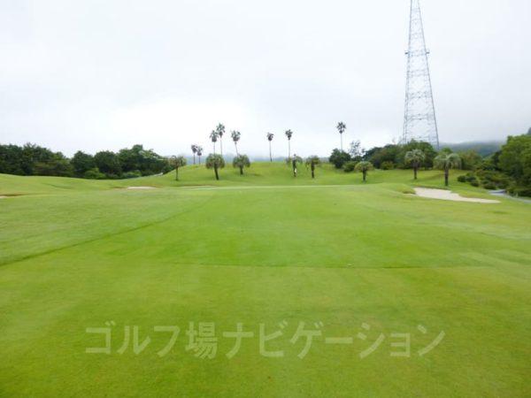 Kochi黒潮カントリークラブ 太平洋コース 6番ホール