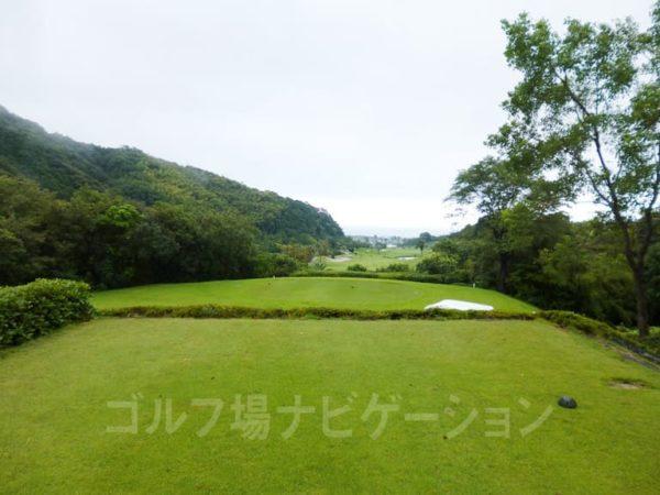 Kochi黒潮カントリークラブ 太平洋コース 7番ホール バックティ