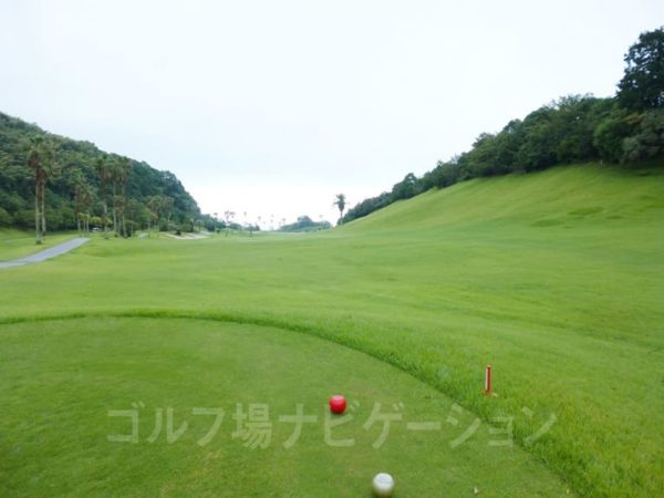 Kochi黒潮カントリークラブ 太平洋コース 7番ホール レディースティ