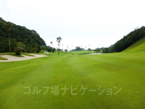 Kochi黒潮カントリークラブ 太平洋コース 7番ホール