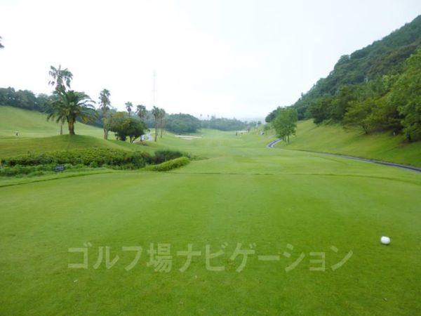 Kochi黒潮カントリークラブ 太平洋コース 8番ホール