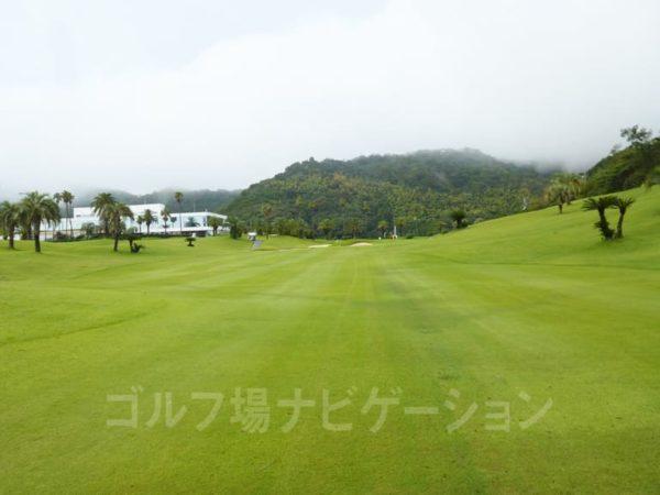 Kochi黒潮カントリークラブ 太平洋コース 9番ホール