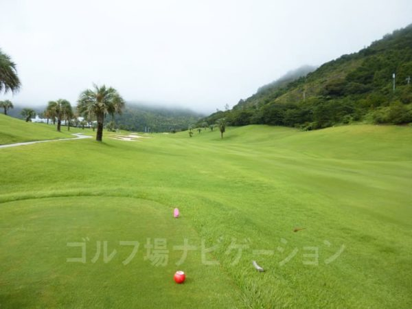 Kochi黒潮カントリークラブ 太平洋コース 9番ホール レディースティ