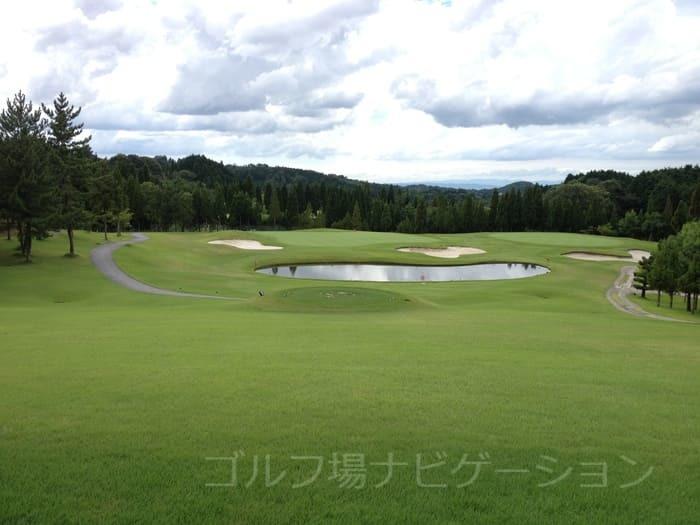 奈良の杜ゴルフクラブ OUTコース