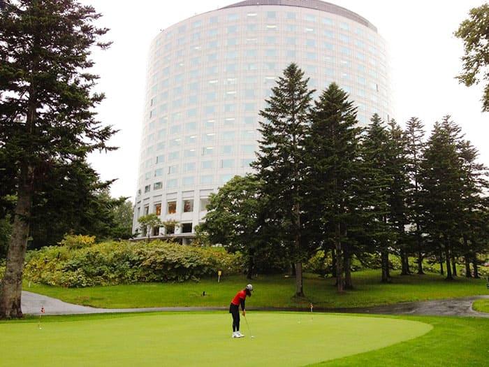 北海道 ニセコビレッジゴルフコース