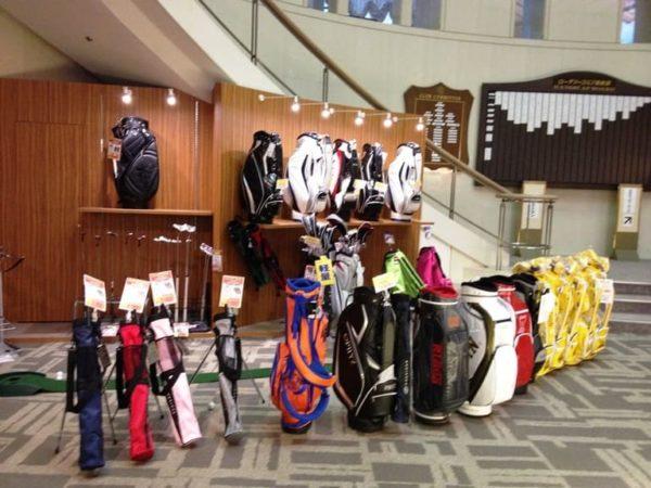 ロータリーゴルフ倶楽部 クラブハウス ショップ ゴルフ用品