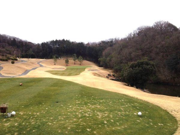 ロータリーゴルフ倶楽部 ニューコース 14番ホール ショートホール