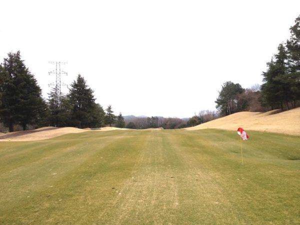 ロータリーゴルフ倶楽部 ニューコース 16番ホール ロングホール